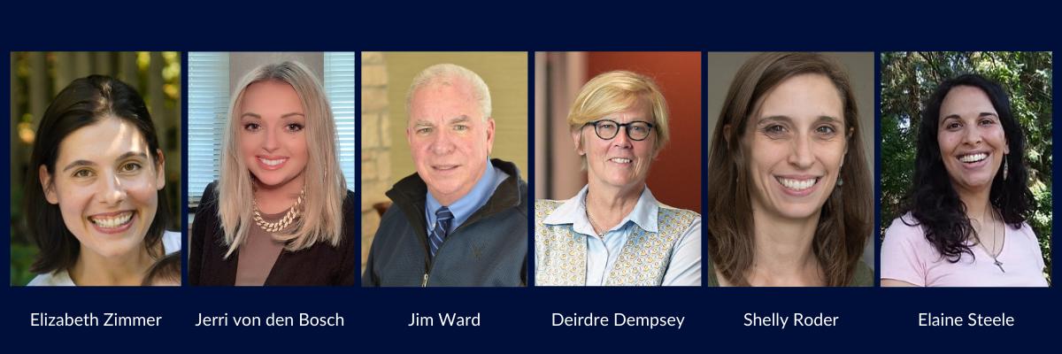 Headshots of six members of the Awake Board of Directors